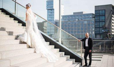 Hochzeit Medienhafen Düsseldorf