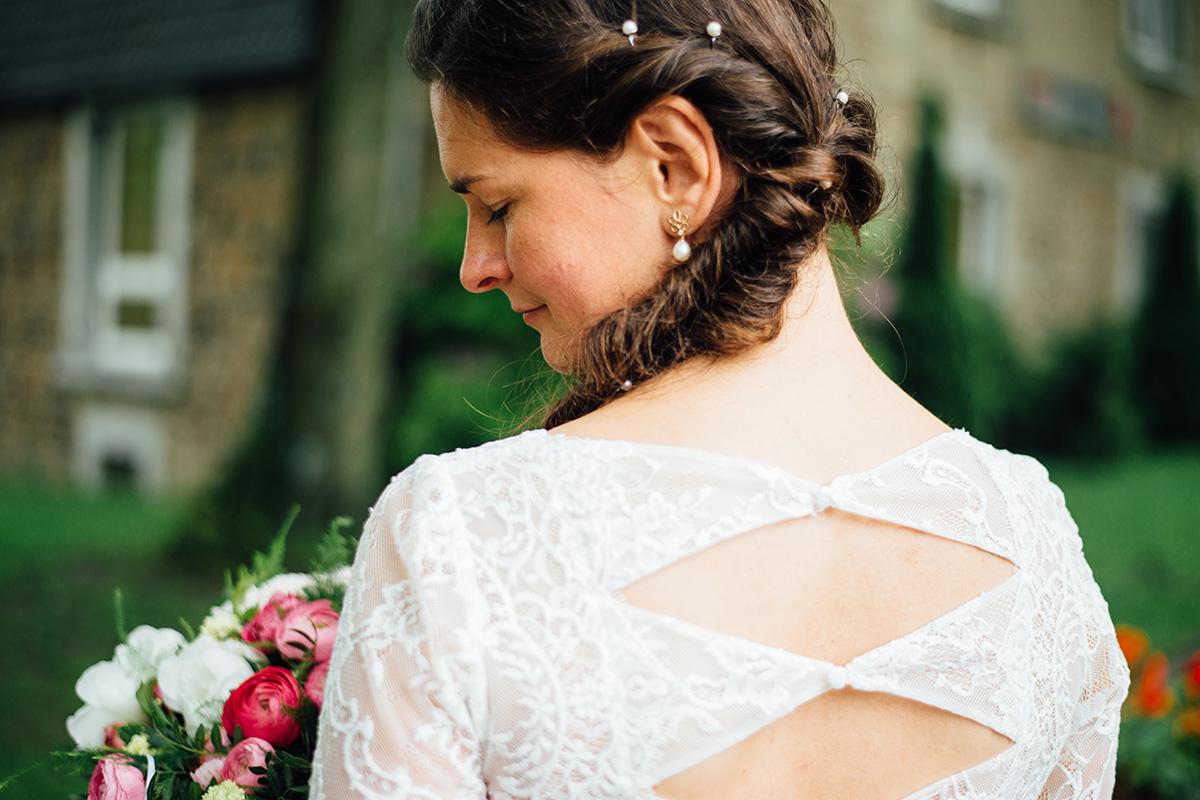 Natürliche Brautfotos