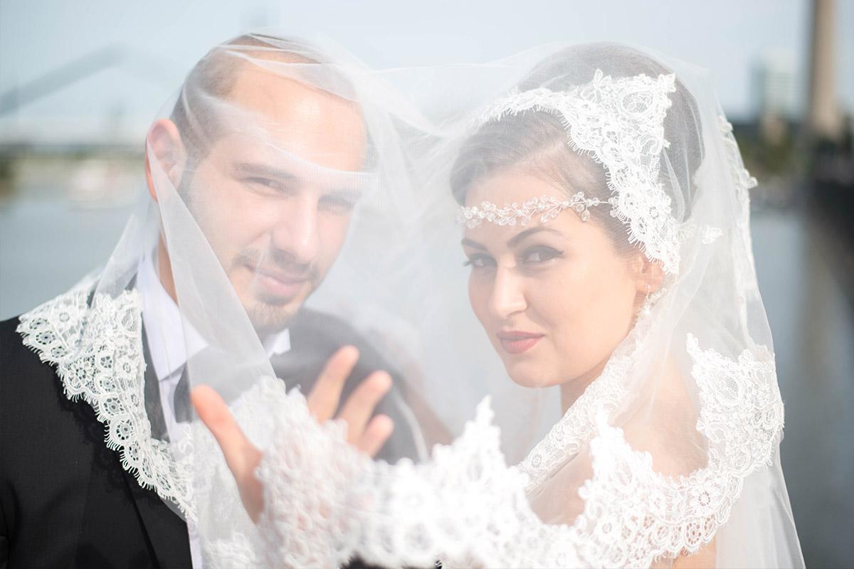 Medienhafen Düsseldorf Hochzeit
