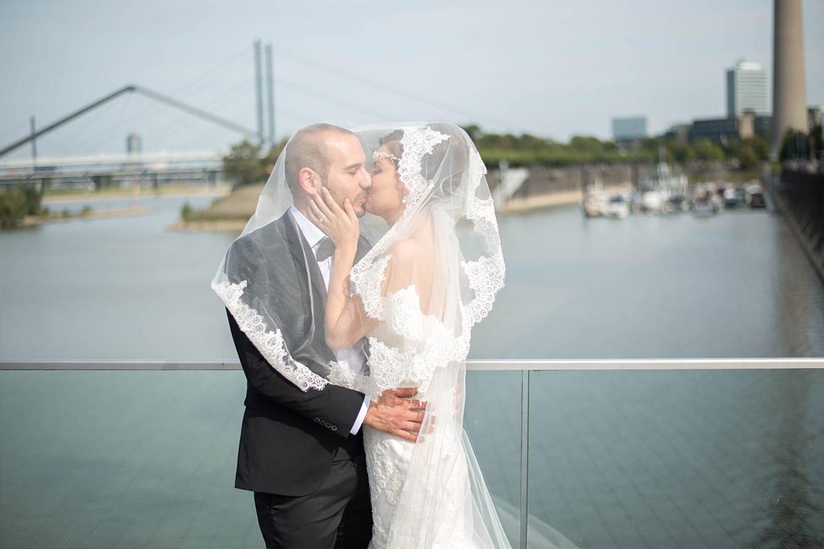 Medienhafen Düsseldorf Hochzeitsfotos