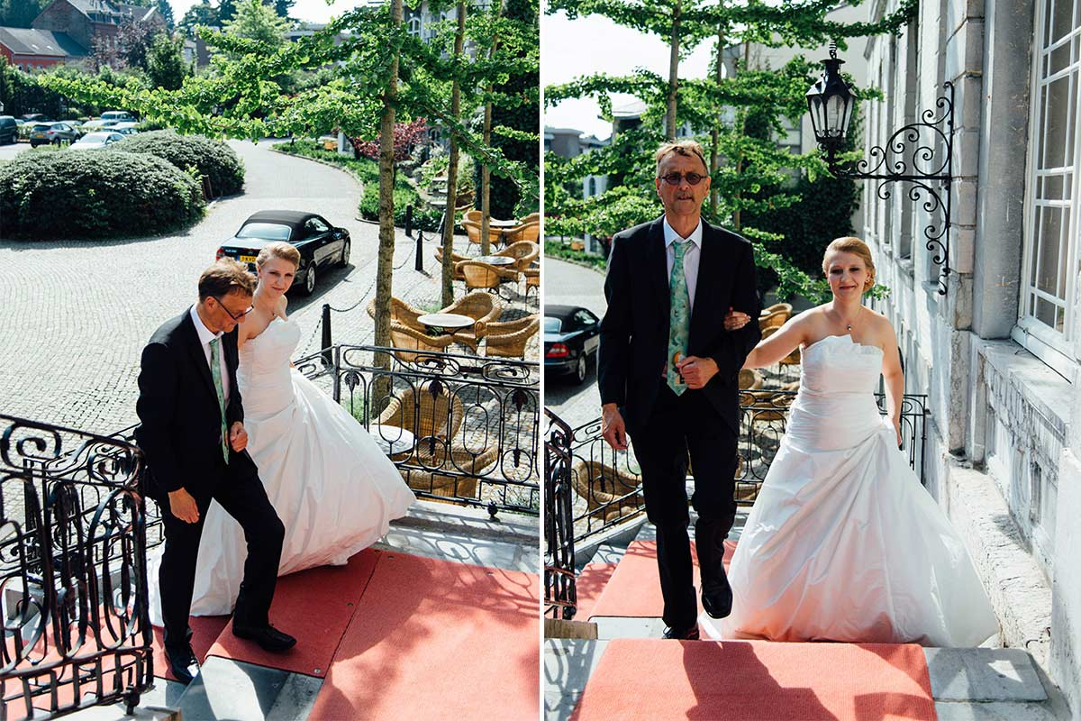 Braut Bräutigam Kasteel Bloemendal