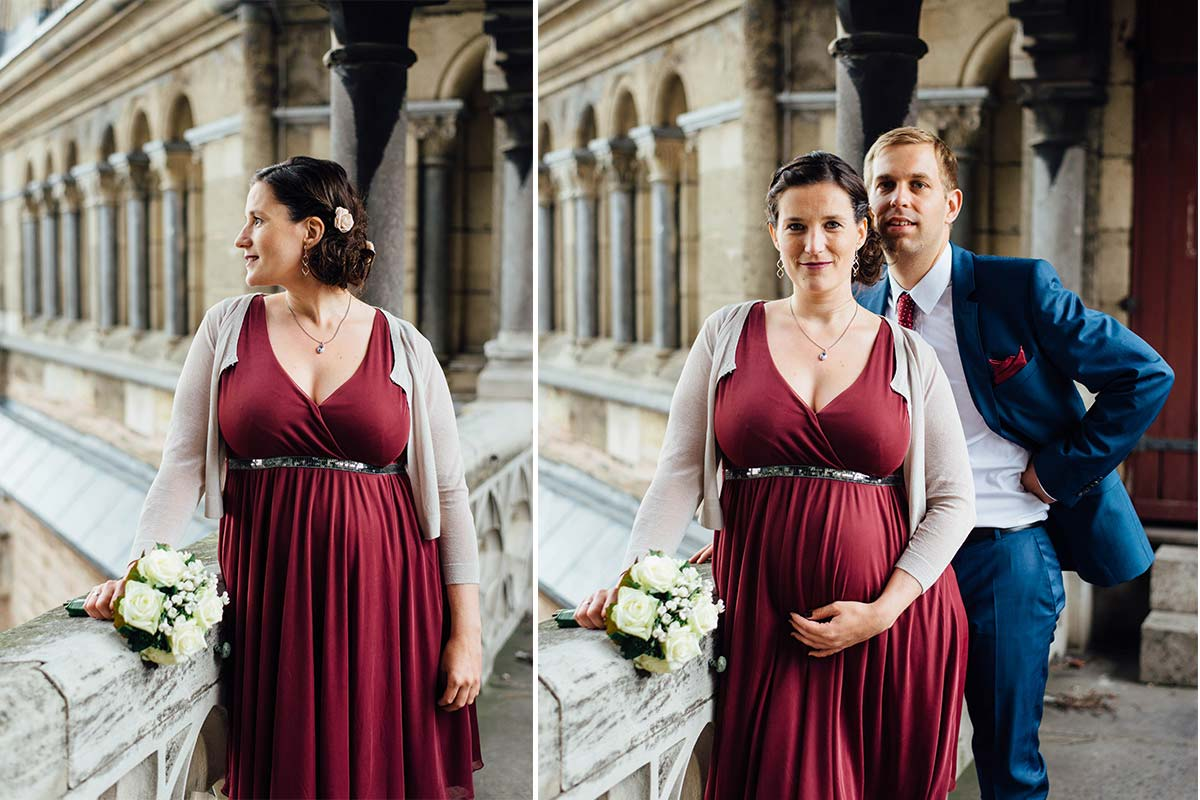 Brautpaar Aachener Dom