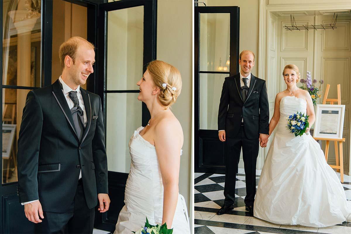 Brautpaar Schloss Bloemendal