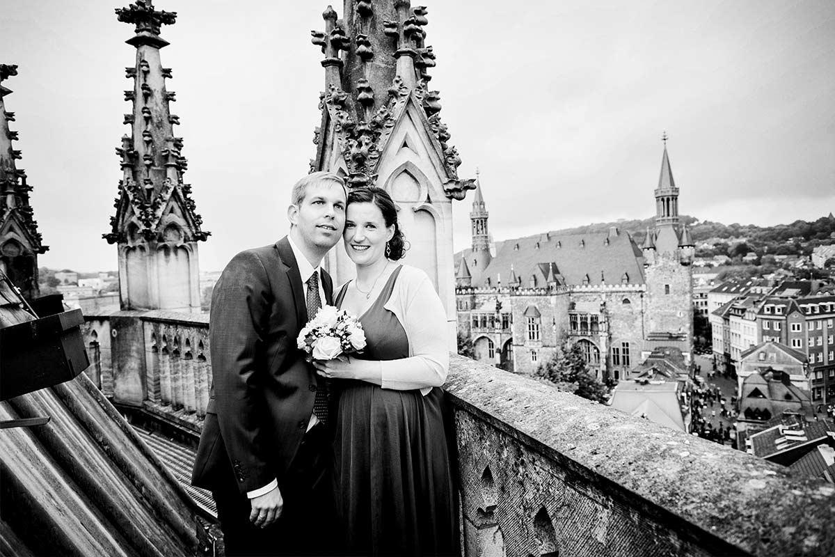 Dom Aachen Hochzeitsfotograf