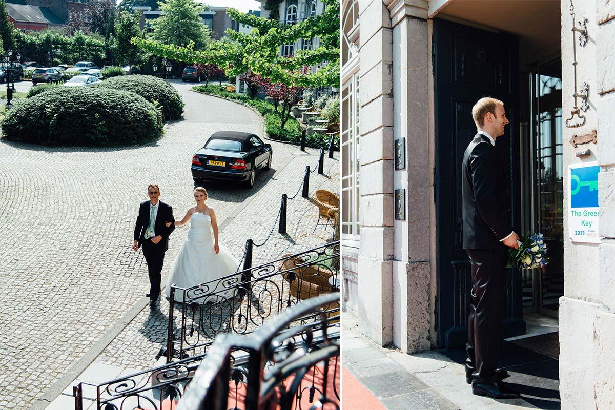 Erster Blick Brautpaar