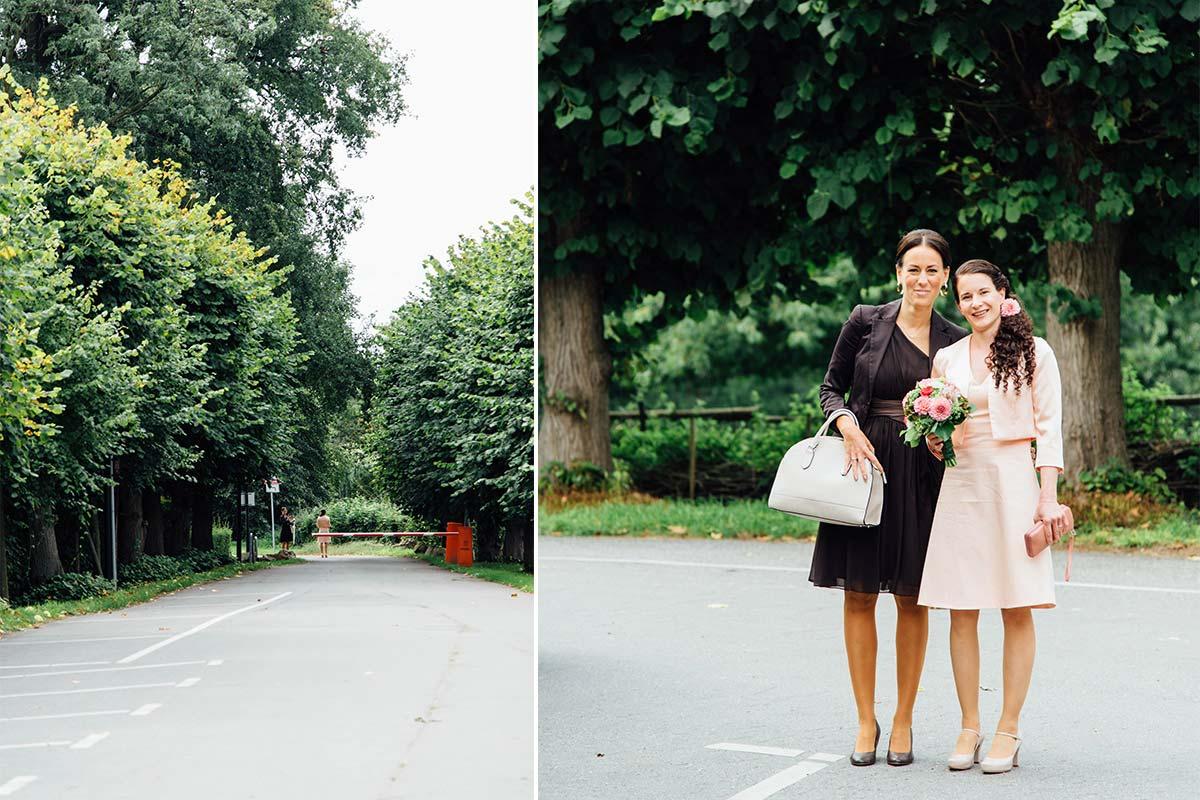Hochzeitsbilder Schloss Zweibrüggen