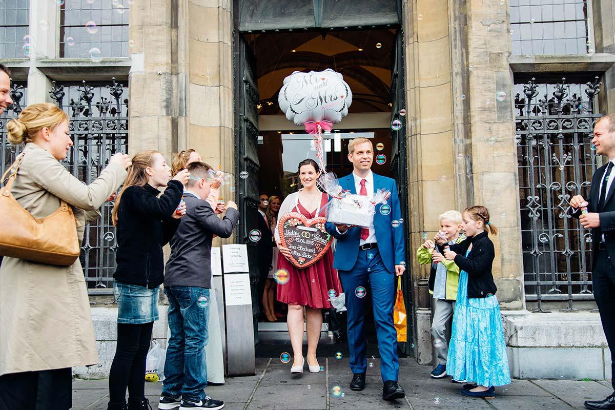 Hochzeitsbilder Weißer Saal Aachen