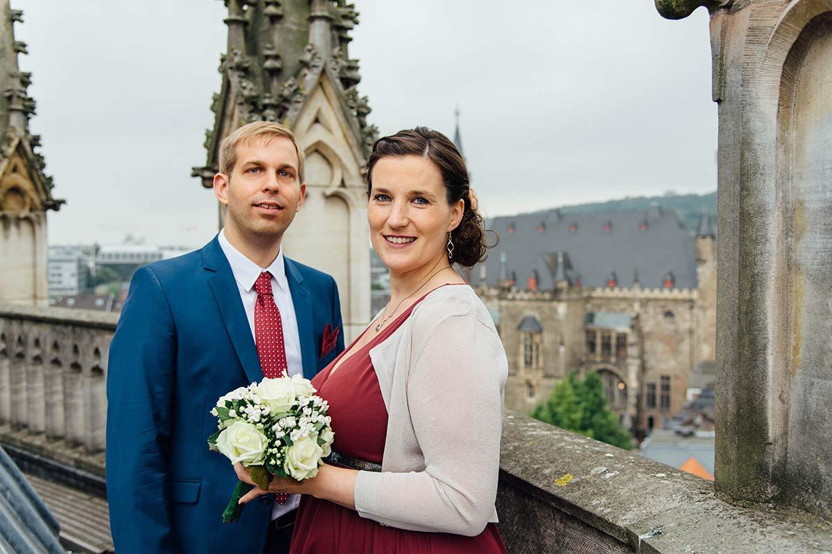 Hochzeitsfotograf Dom Aachen