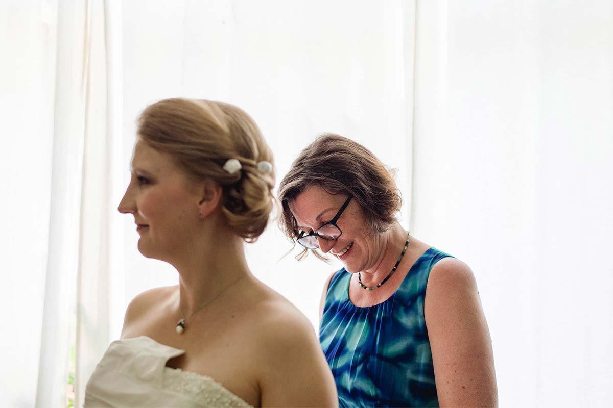 Hochzeitsfotografin Getting Ready