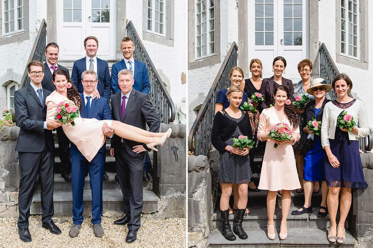 Schloss Zweibrüggen Gruppenfotos