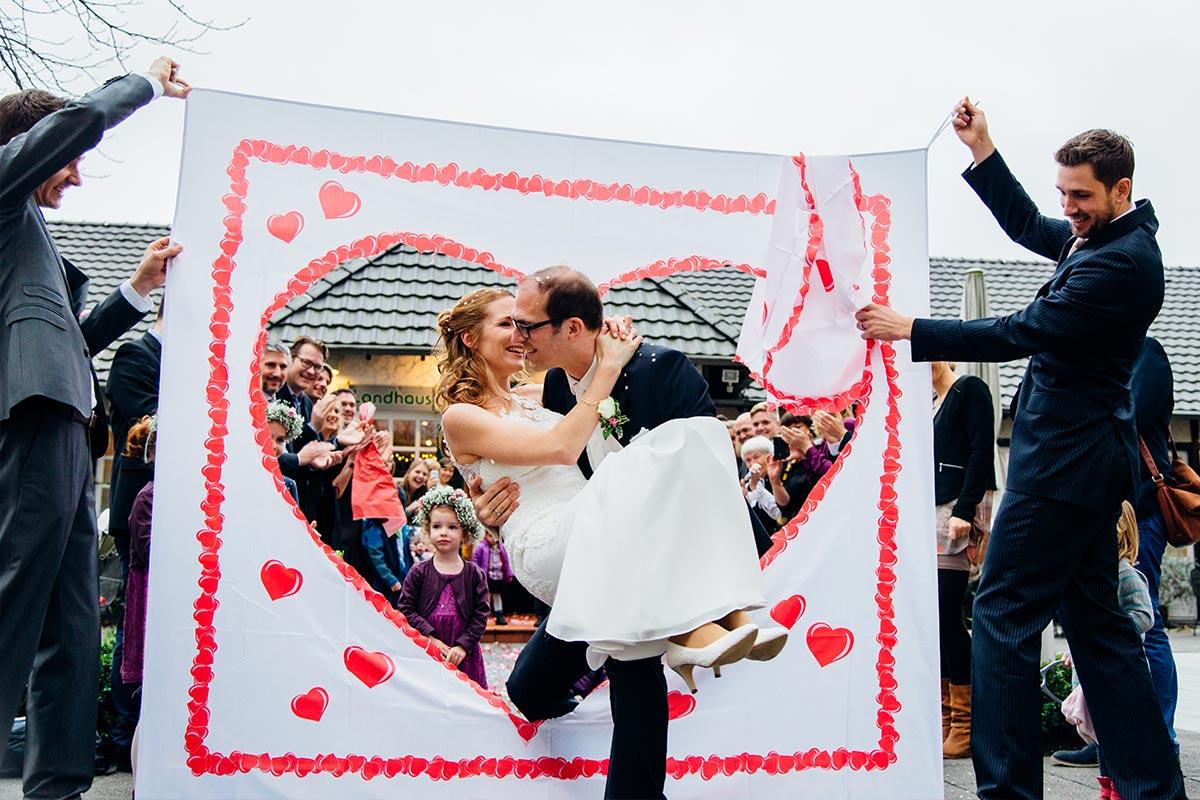 Hochzeitsspiel Brautpaar Köln