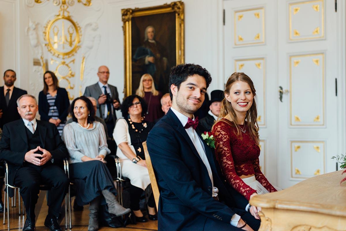 Hochzeit Aachen Weißer Saal Aachen Brautpaar