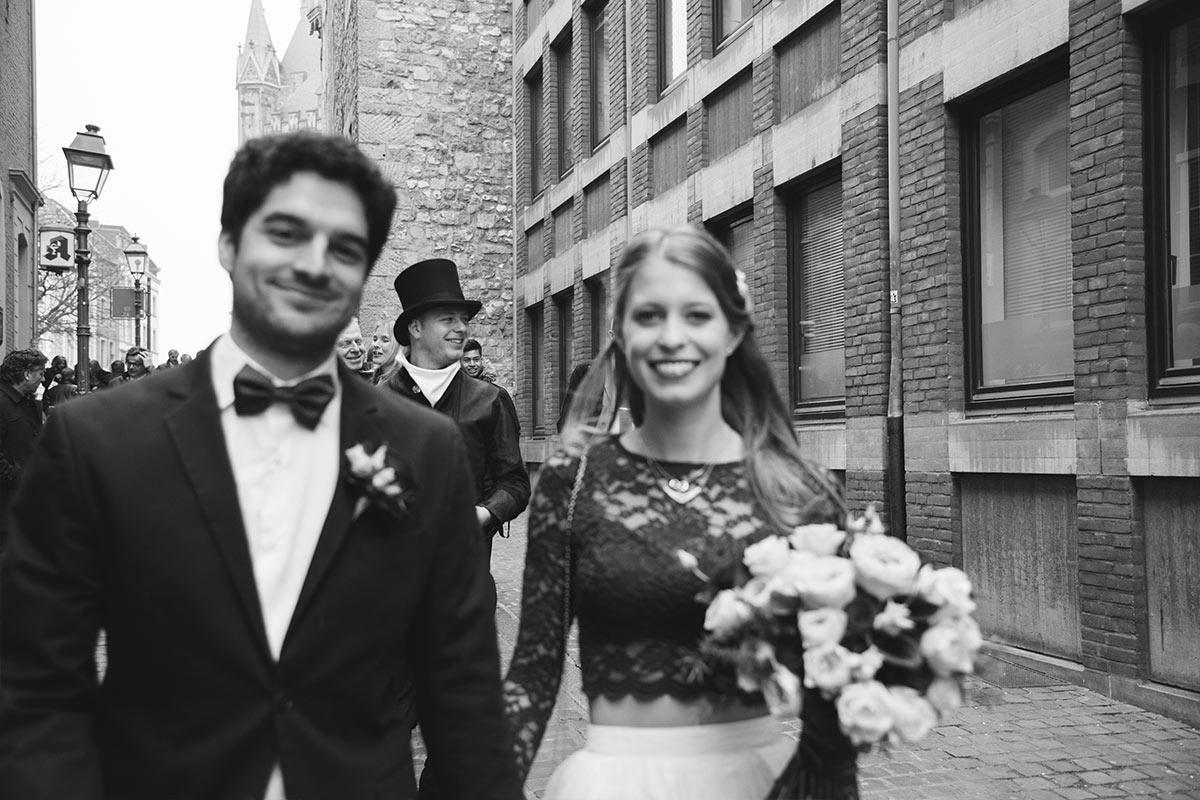 Aachen Pontstraße Hochzeitsfotos