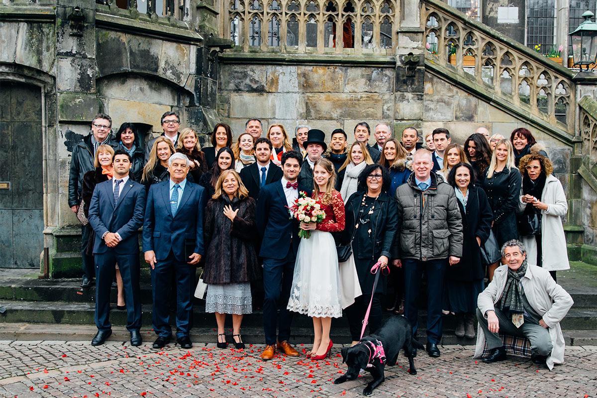Aachen Weißer Saal Hochzeitsgesellschaft