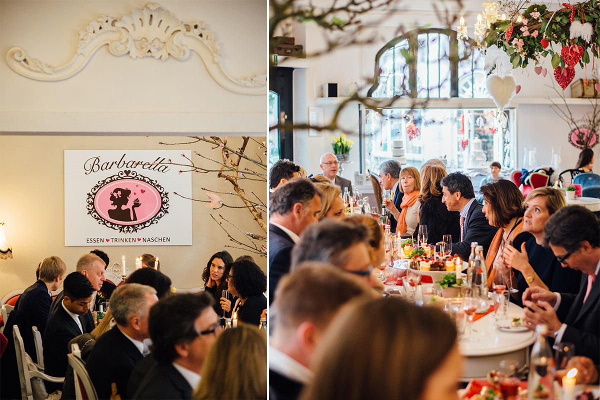 Barbarella Café in Aachen Hochzeitsfeier