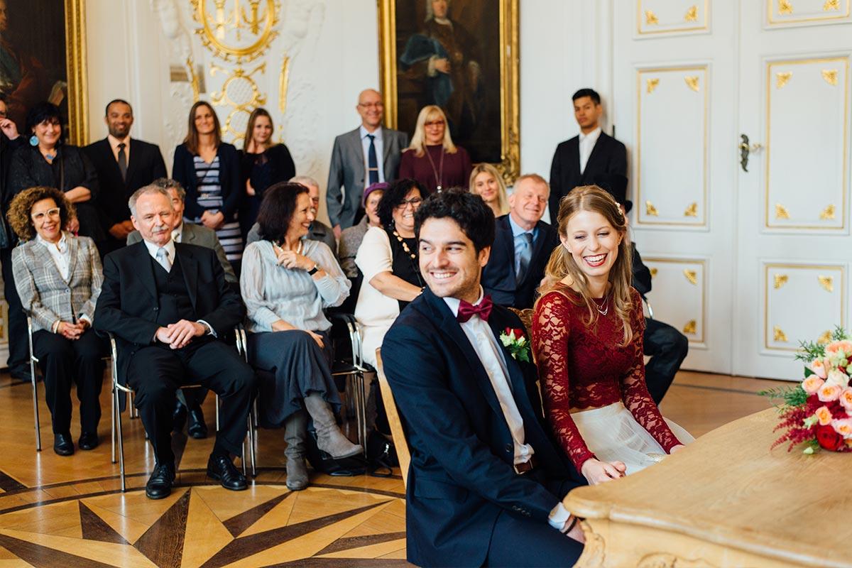 Deutsch-Spanische Hochzeit Weißer Saal