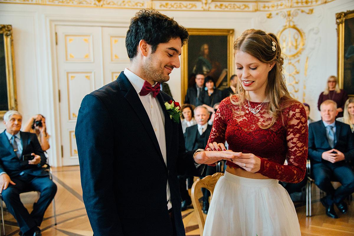 Hochzeitsfotos Weißer Saal Aachen