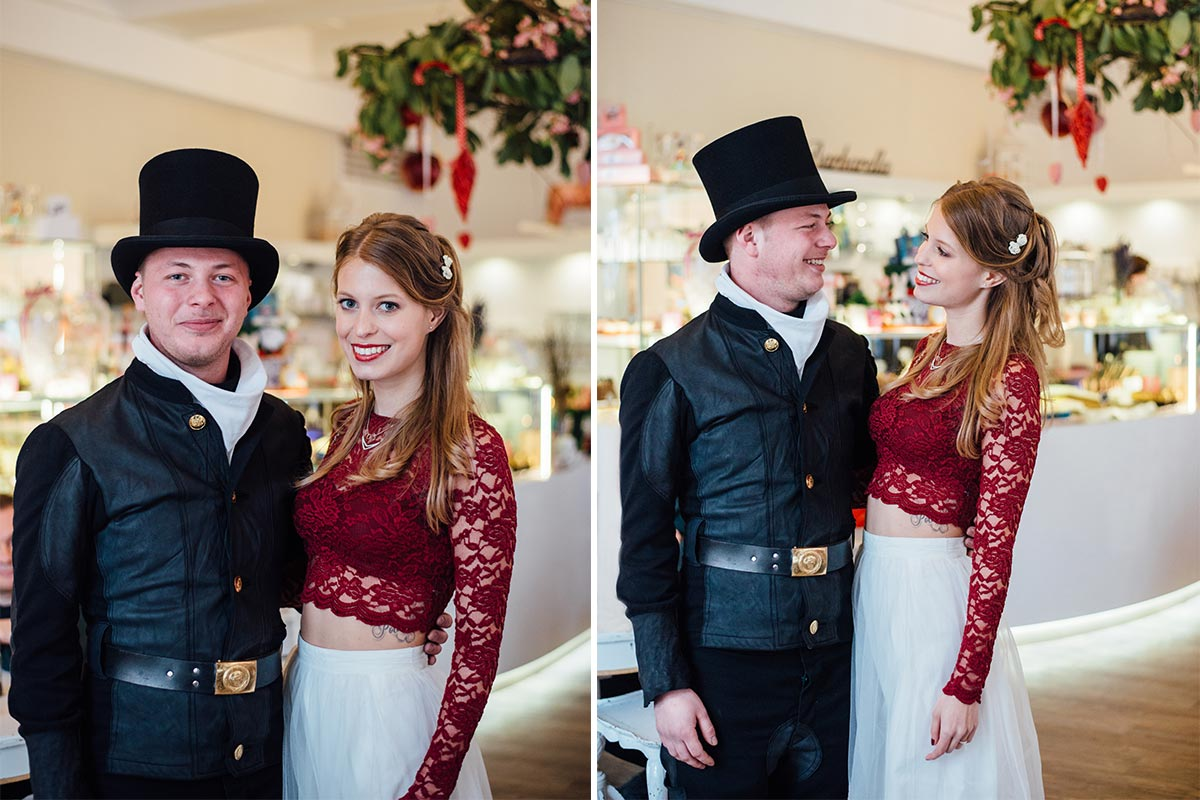 Schornsteinfeger Braut