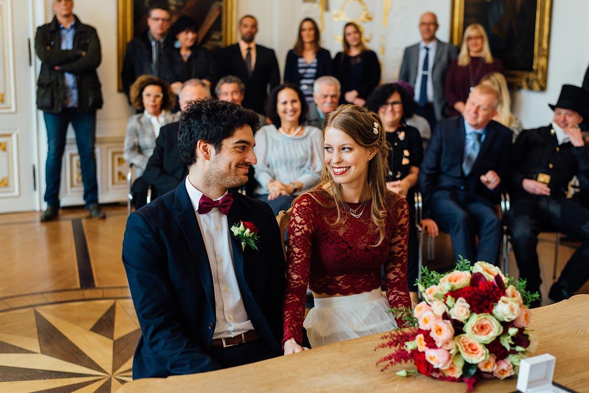 Spanische Hochzeit Weißer Saal