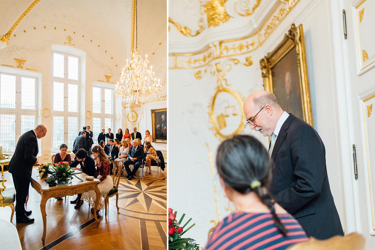 Standesamtliche Hochzeit Weißer Saal Aachen