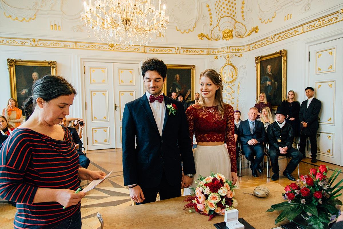 Weißer Saal Aachen Deutsch Spanische Hochzeit
