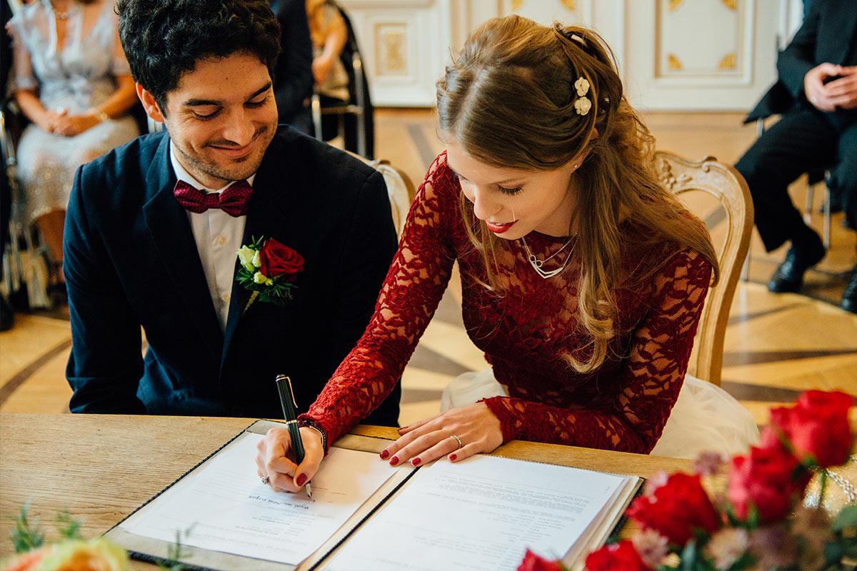 Weißer Saal Rathaus Hochzeit Aachen