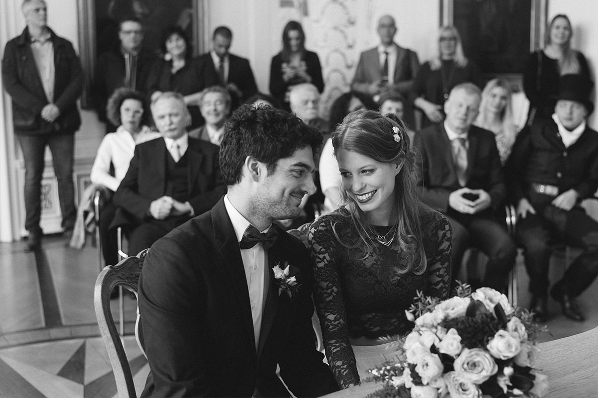 Weißer Saal Rathaus Hochzeitsfotos Aachen