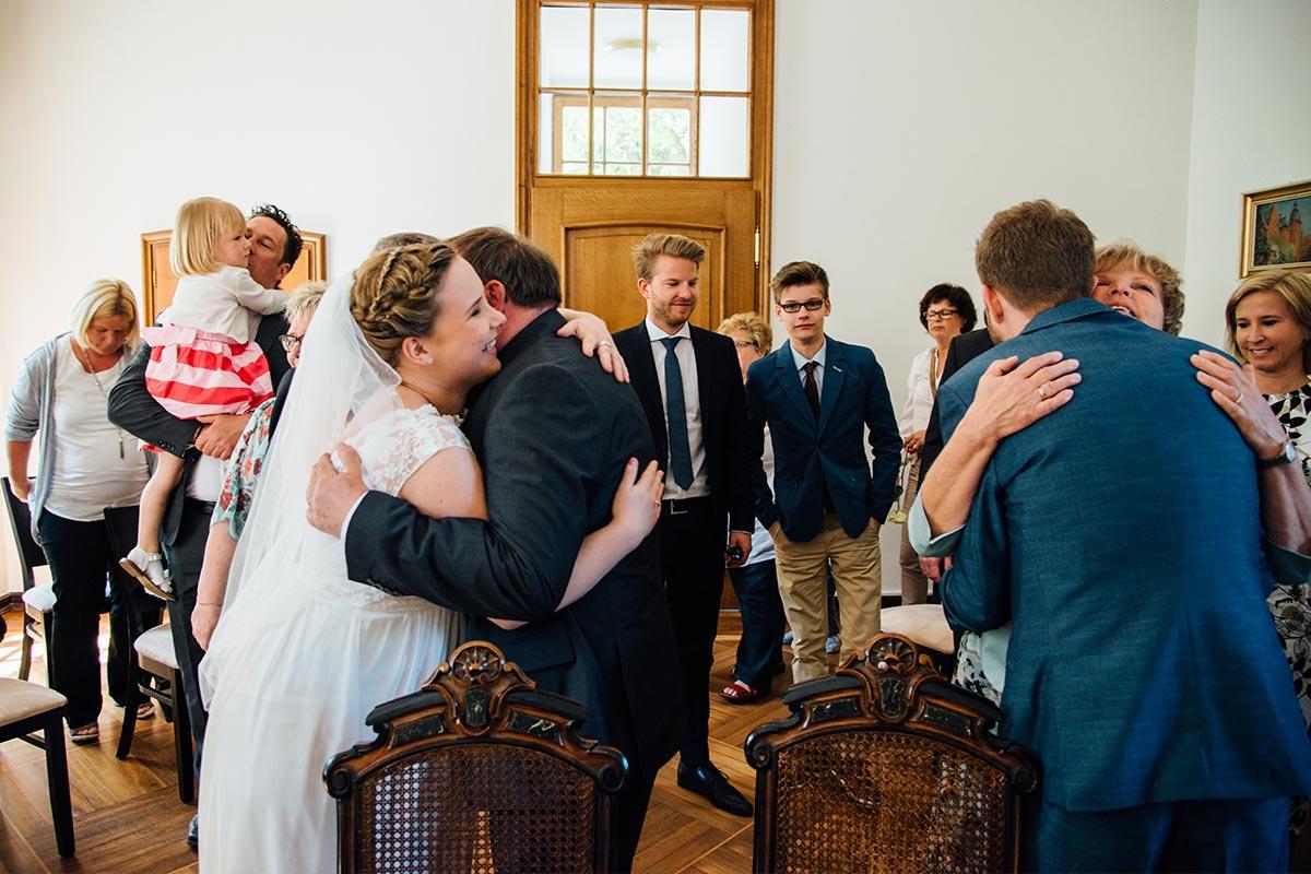 Gratulationen Brautpaar Burg Alsdorf
