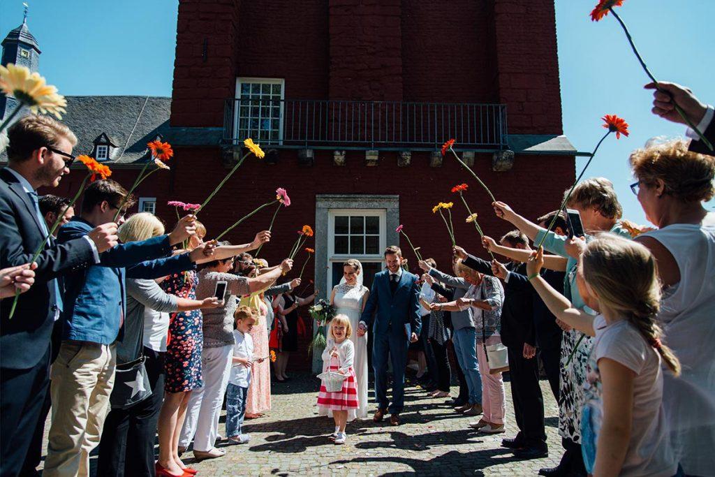 Hochzeitsfeier Burg Alsdorf