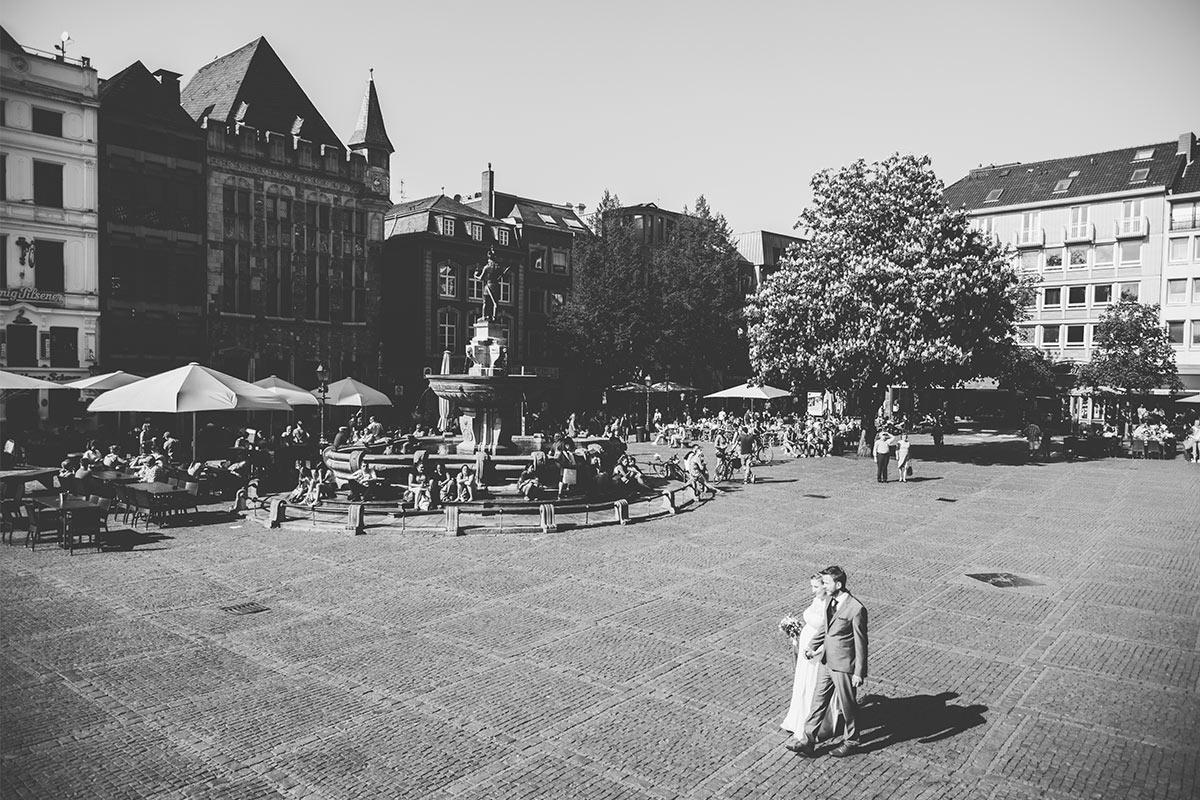 Hochzeitsfotos Aachen Markt