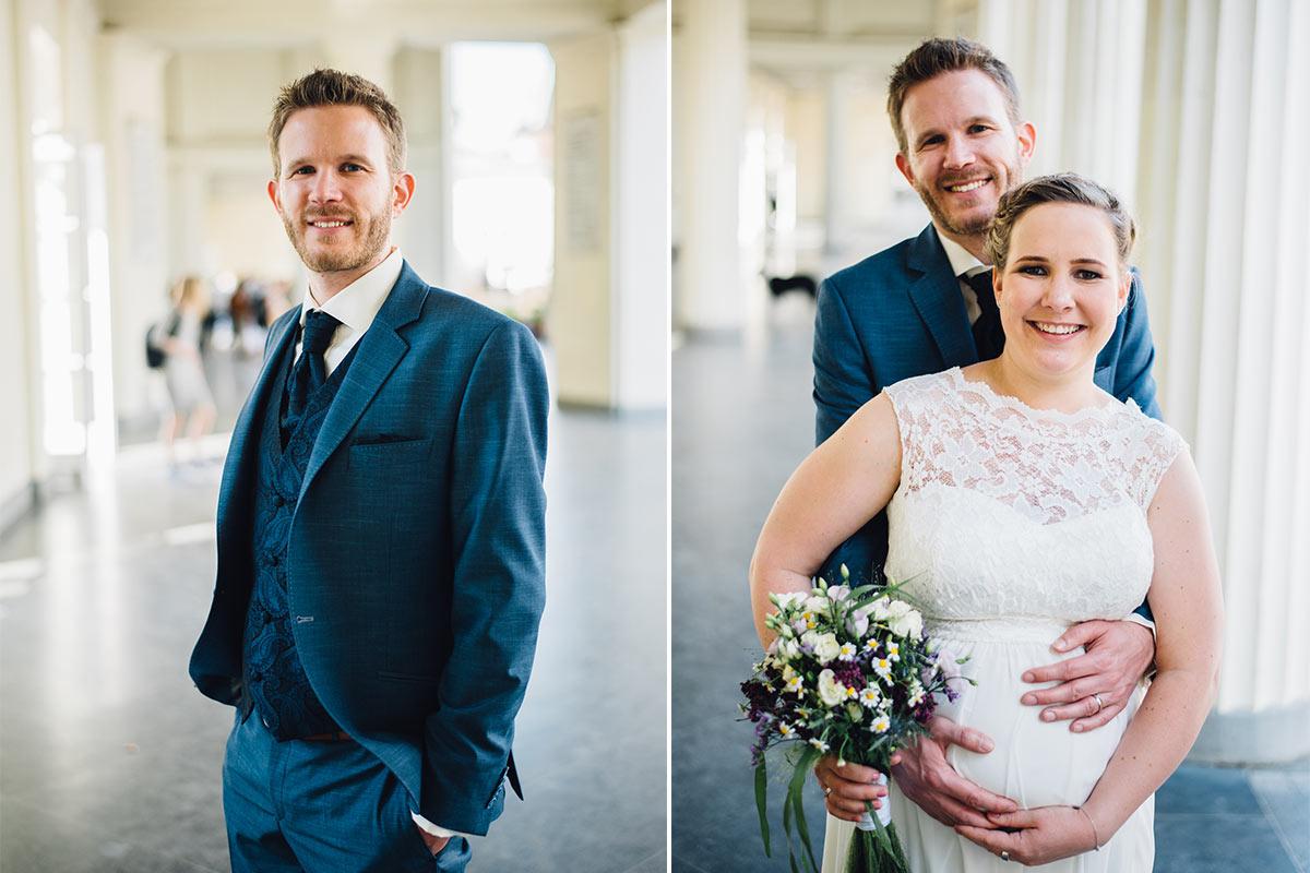 Hochzeitsfotos Elisenbrunnen
