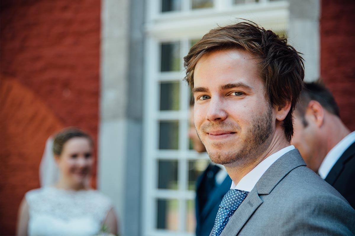 Hochzeitsreportage Gäste Burg Alsdorf