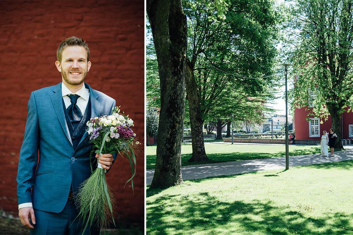Hochzeitsreportage mit First Look