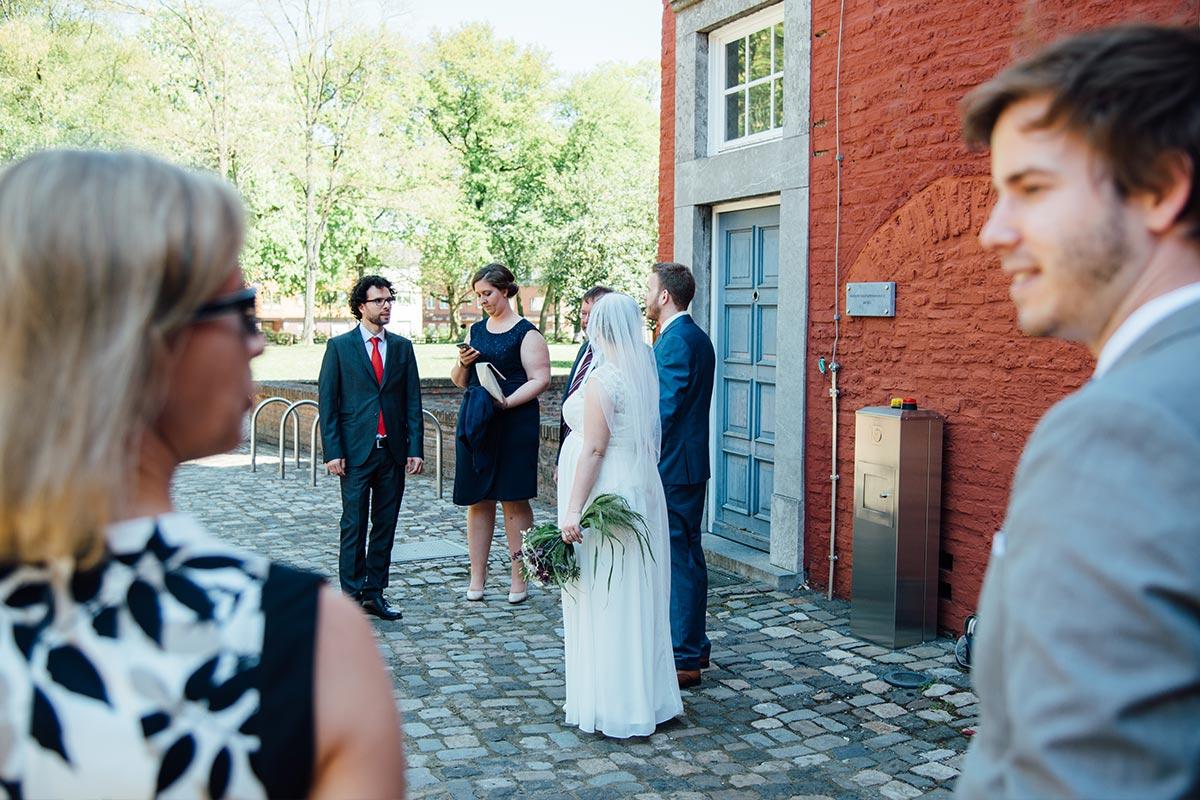 Hochzeitsreportage Standesamt Burg Alsdorf