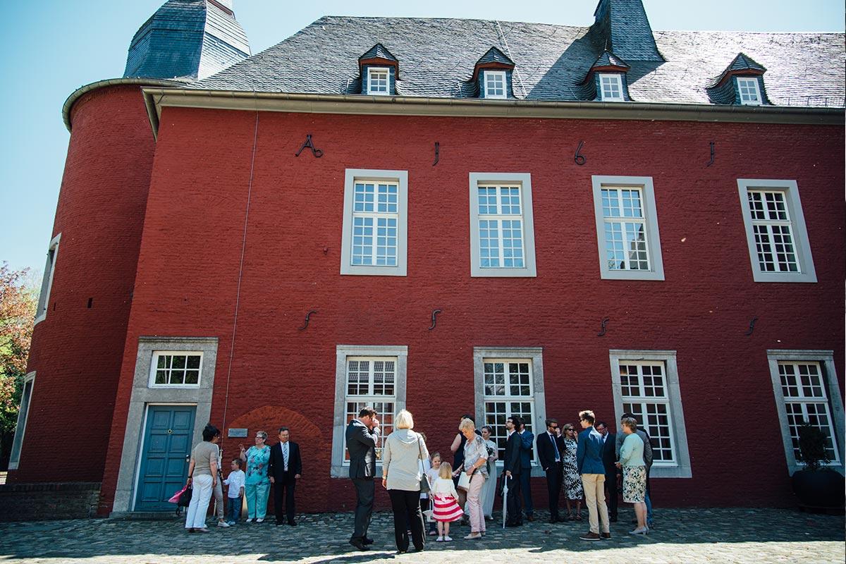 Standesamtliche Hochzeit Burg Alsdorf