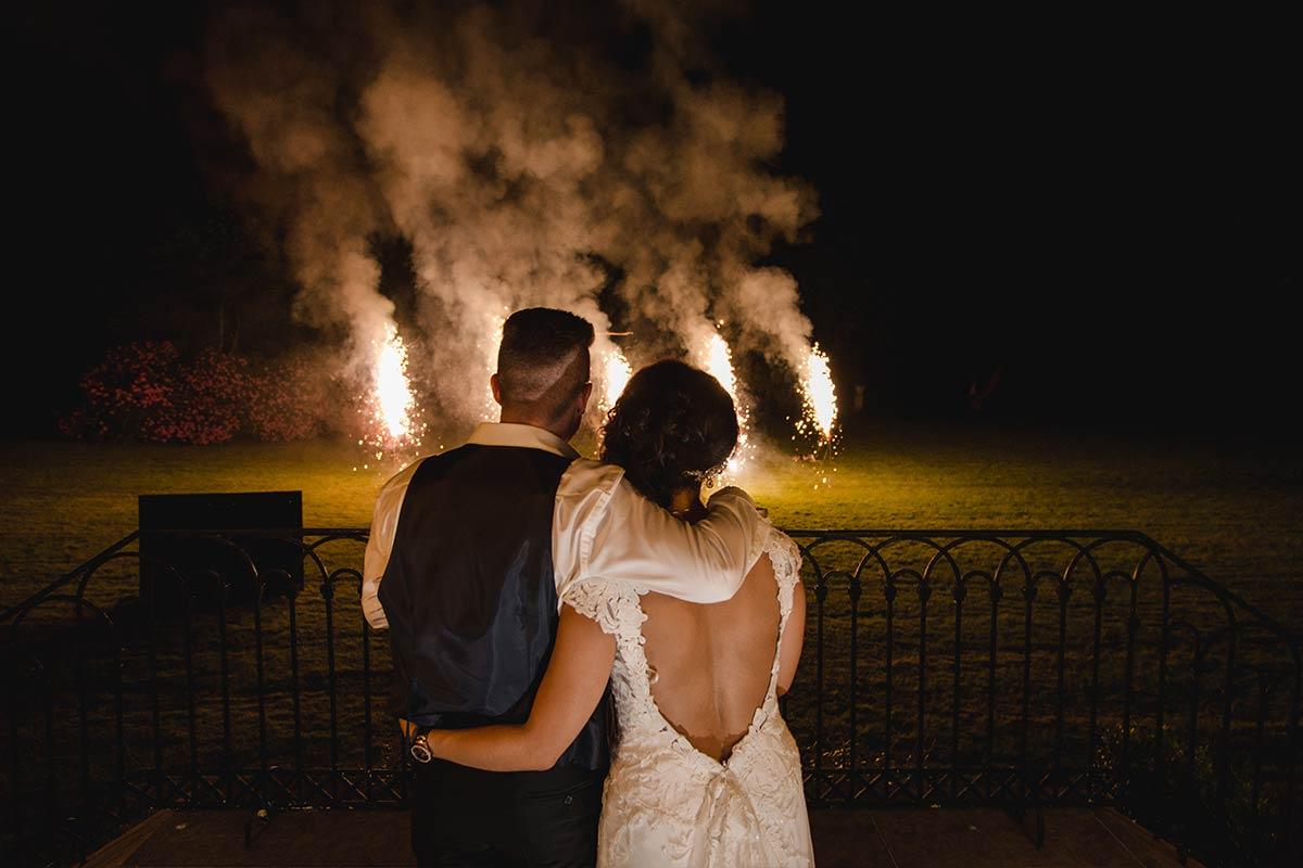 Feuerwerk Hochzeit Schloss Rahe 003