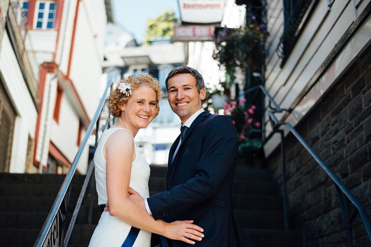 Monschau Brautpaar Hochzeitsfotos