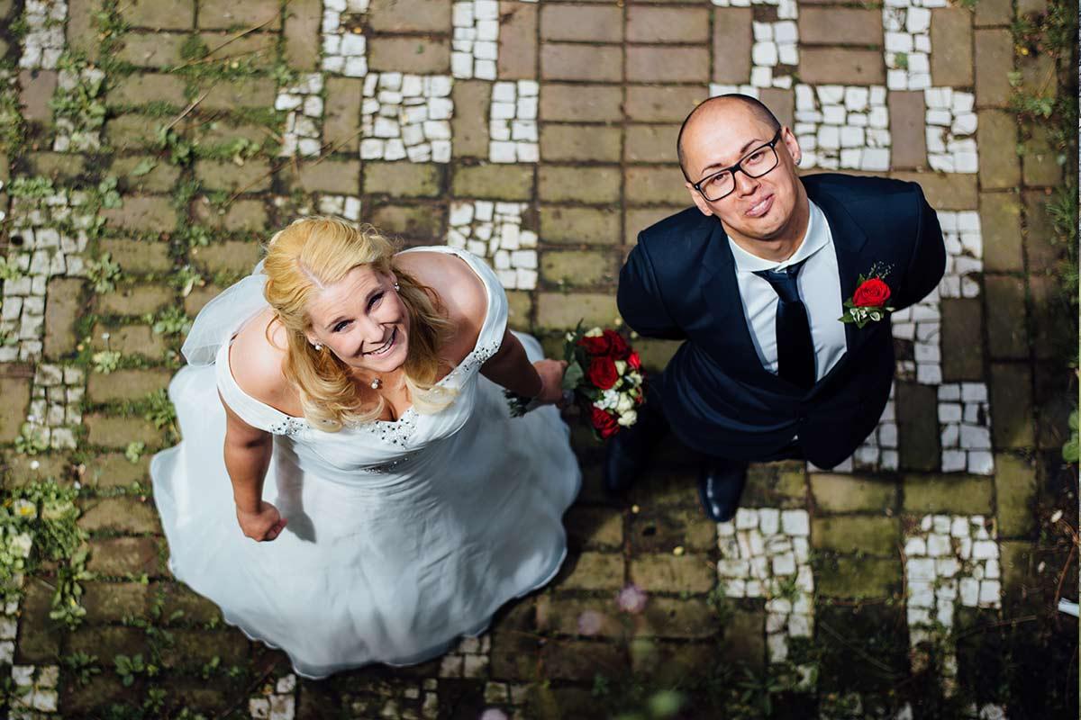 Brautpaarfotos Kurpark Terrassen