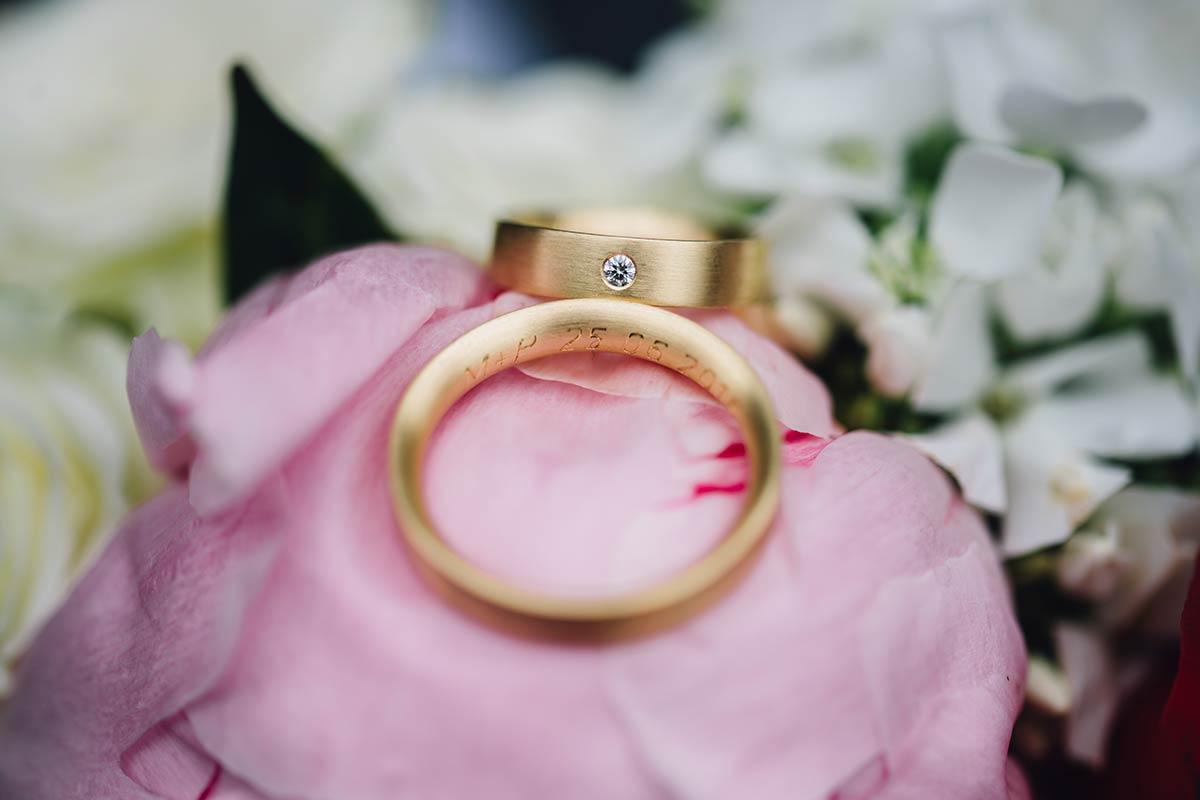 Hochzeitsdetails Hochzeitsringe