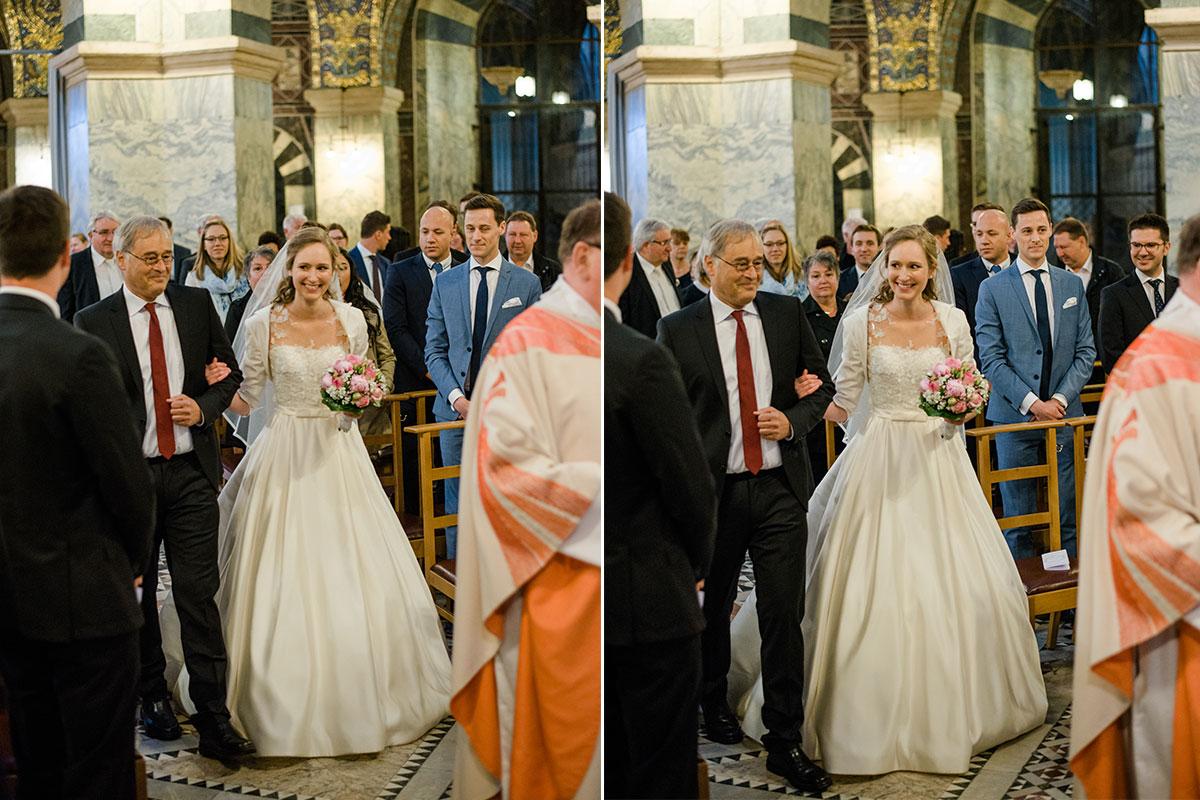 Aachener Dom - Einmarsch Braut