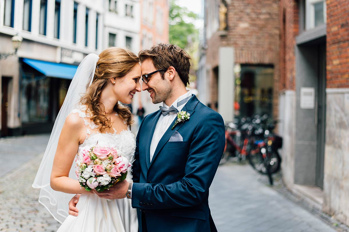 Brautpaarfotos Annastrasse Aachen