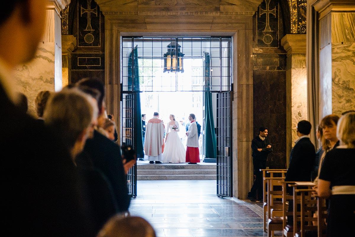 Einmarsch Braut Aachener Dom