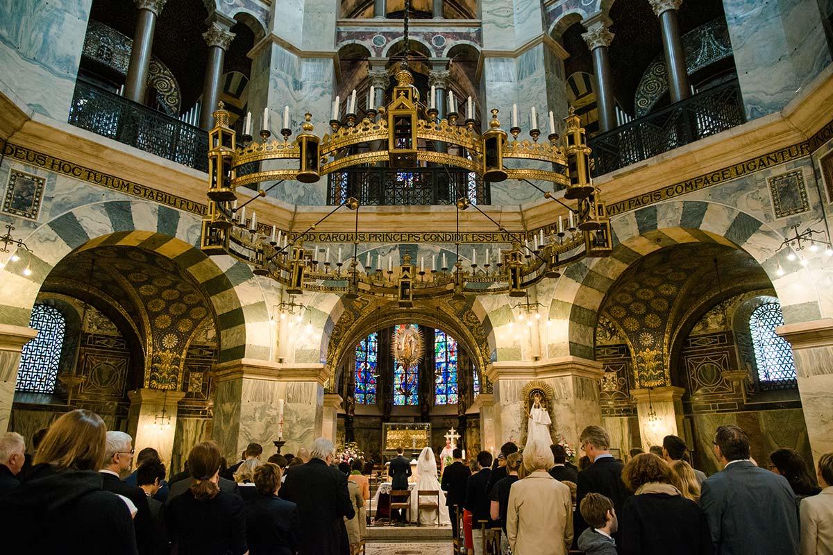 Hochzeit Aachener Dom