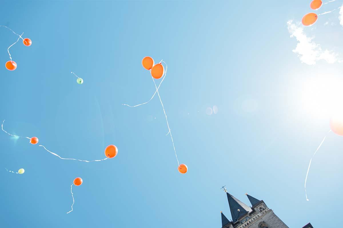 Hochzeit Luftballons Aachen