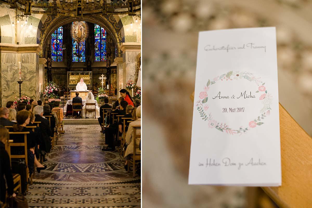 Hochzeitsfotografin Aachener Dom