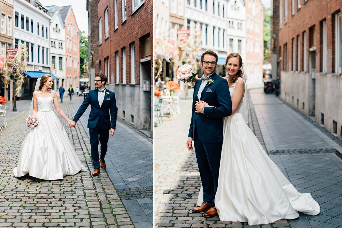 Hochzeitspaarfotos Annastrasse Aachen