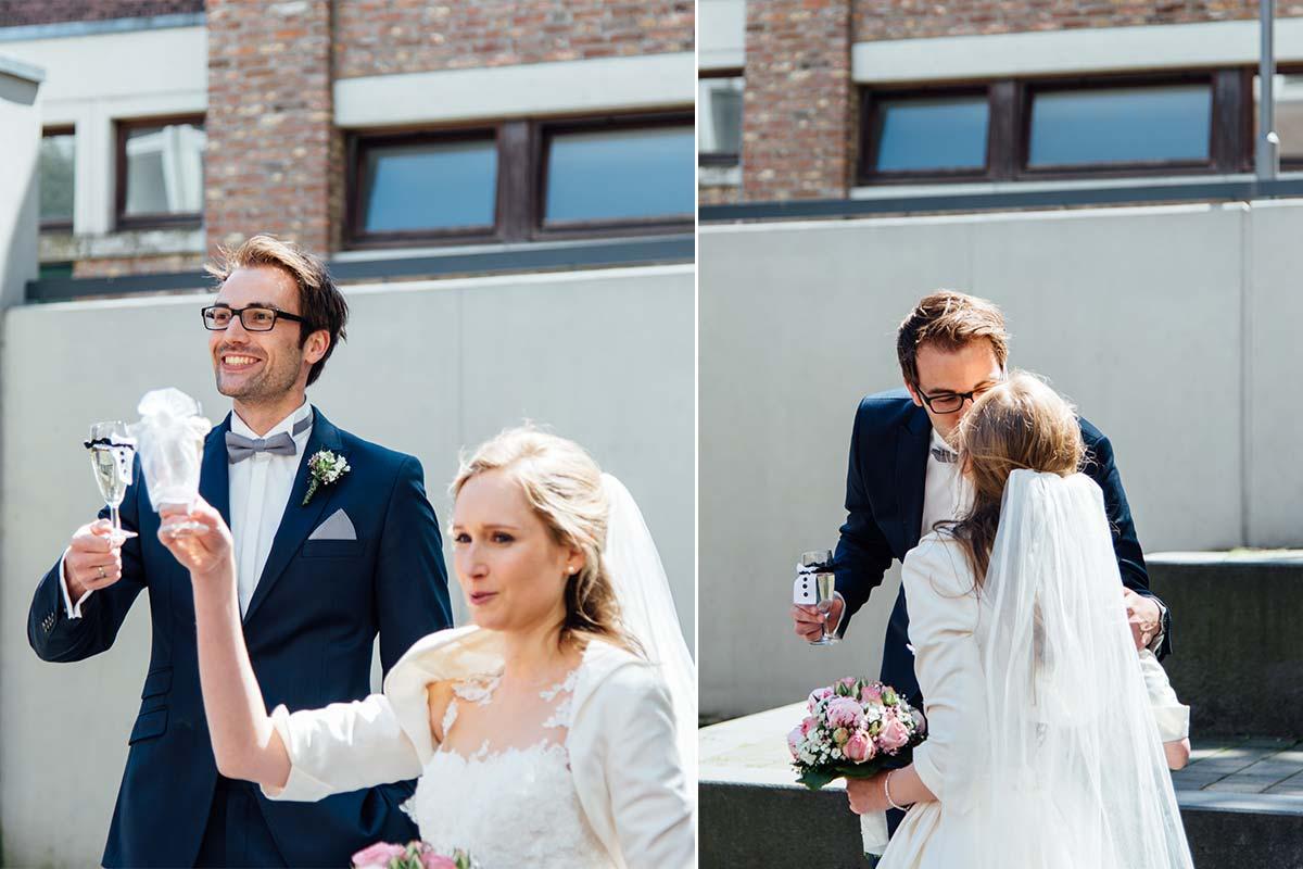 Hochzeitsprost Aachener Dom