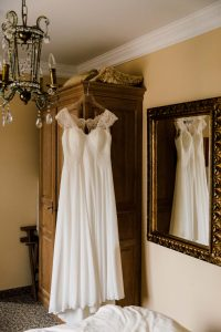 Hochzeitsfotografie Brautkleid Aachen