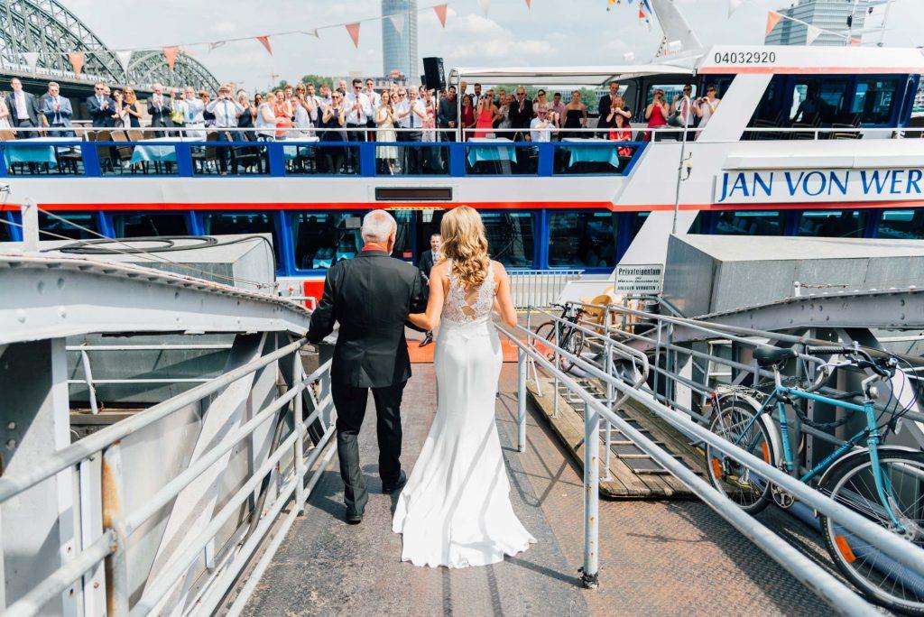 Hochzeitsfotografie First-Look Aachen