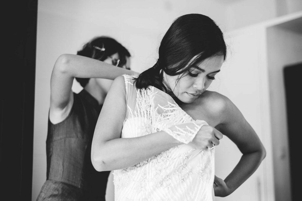 Hochzeitsfotografie Getting Ready Braut